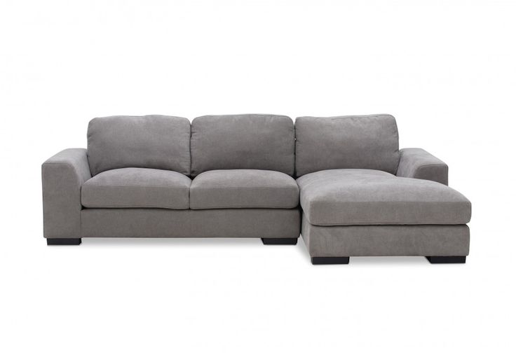 Marlow Fabric 3 Seater Chaise | Super Amart
