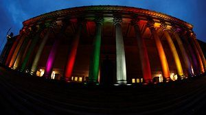 St Georges Hall in Liverpool, United Kingdom