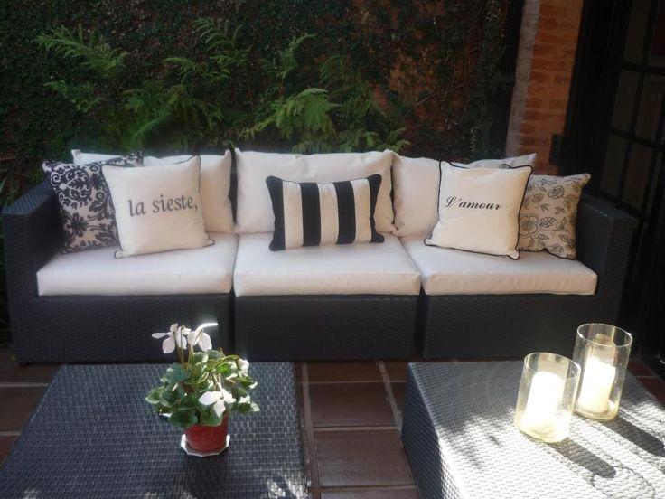 Cojines de terraza!!! Style.disenadora@yahoo.cl