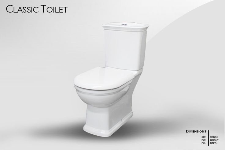 Classic Toilet - Click Image to Close