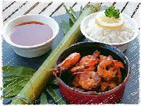 Эликсир молодости: Креветки с имбирем и ароматный рис
