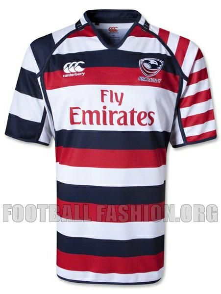 USA Rugby Sevens 2013 Canterbury Home Jersey -  For the best rugby gear check out http://alwaysrugby.com