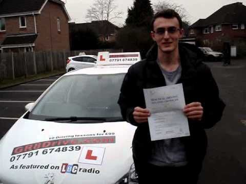 DRIVING TEST PASS FIRST TIME-ERVIN AT PINNER DRIVING TEST CENTRE