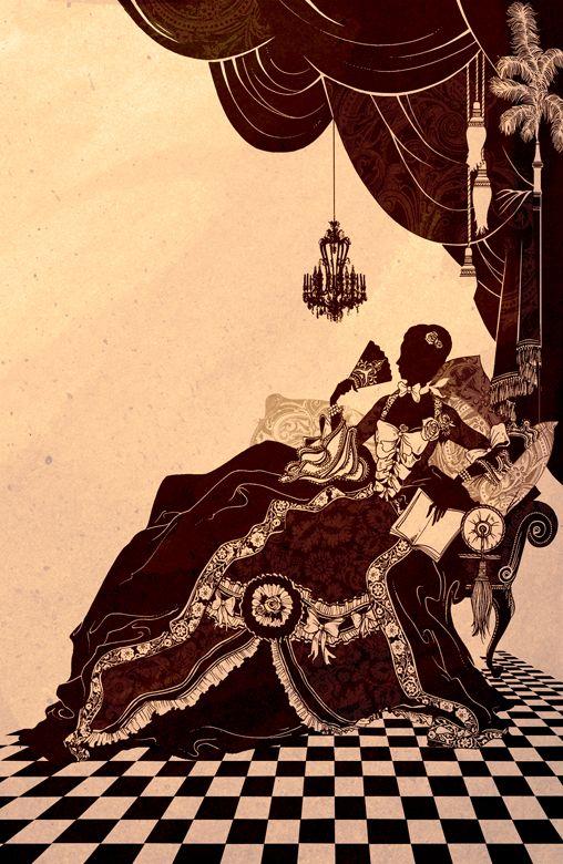 Madame de Pompadour  by Richard MerrittMadame Pompadour, Heart, Madame De, Merritt Madame, He Art, Richard Merritt, Random Interesting, The Pompadour, Artsy Fartsy