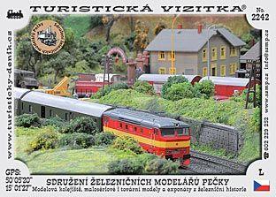 Pečky - provoz železničních modelů a kolejišť