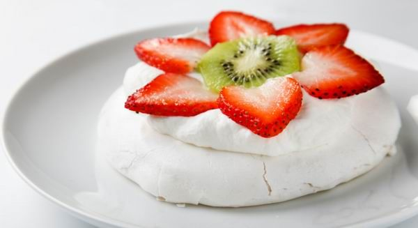 Pavlova torta (alaprecept)