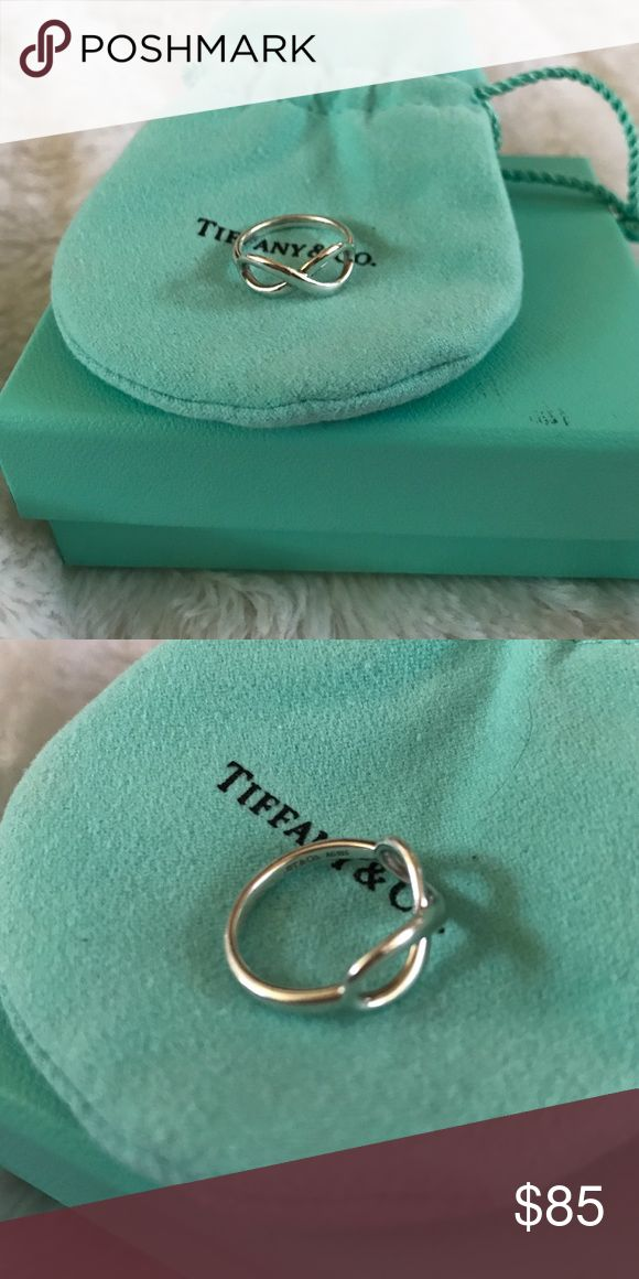 Tiffany & Co. infinity Ring Sterling Silver Tiffany & Co. Jewelry Rings