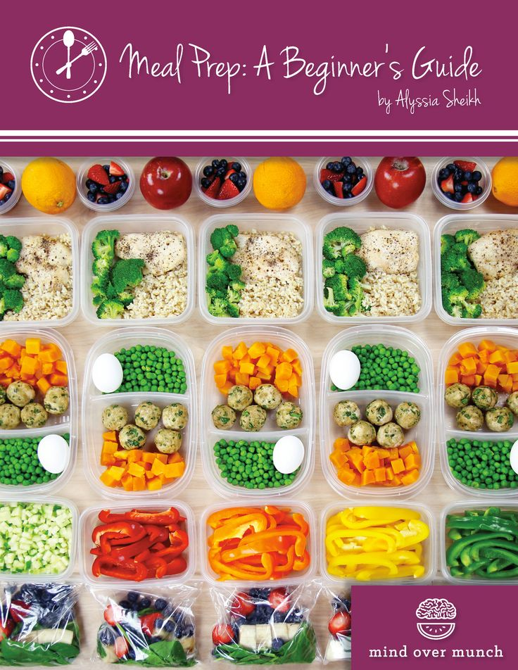 Meal Prep: A Beginner's Guide | EVERYTHING YOU NEED TO KNOW ABOUT MEAL PREP in an easily organized, informational and enjoyable way! Tips and tricks to help you with organization, time management, cooking techniques, and a FREE recipe book included with 25 QUICK & PORTABLE MEALS!