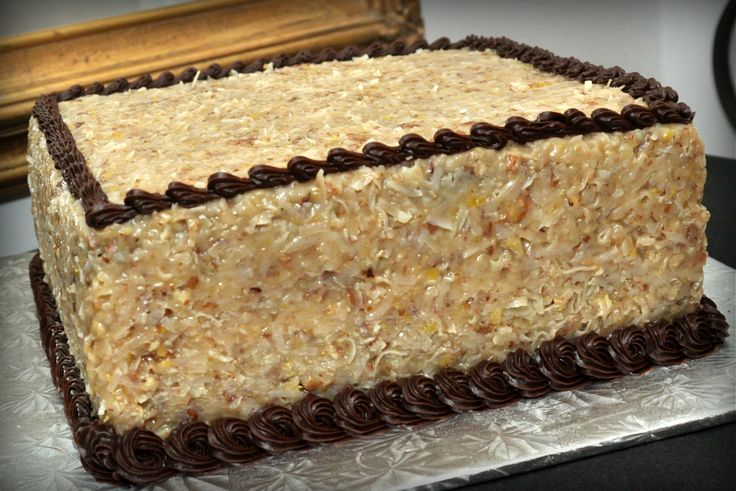 X German Chocolate Cake