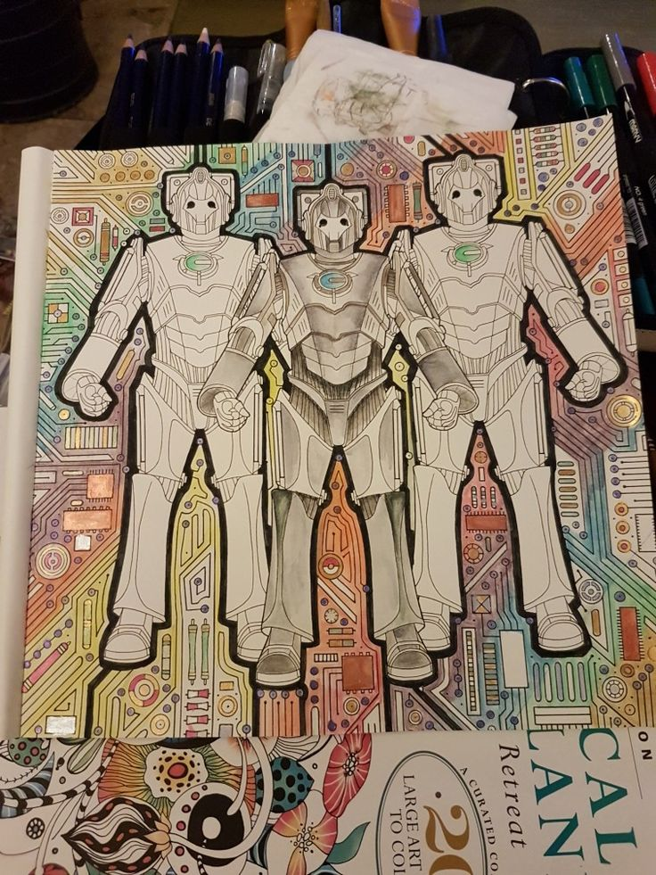 10 Best Dr Who Colouring Images On Pinterest