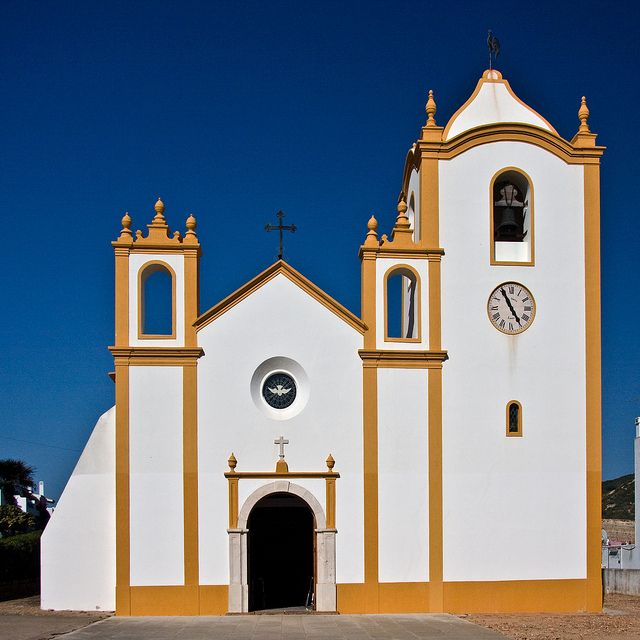 Praia de Luz church Portugal