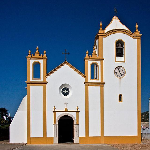 The Church at Praia da Luz - many a wonderful family holiday was spent exploring Praia da Luz