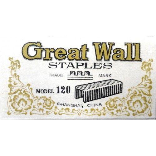 Tűzőkapocs 24/13 500 darab Great Wall - Tűzőgépkapocs - 39Ft - Tűzőkapocs