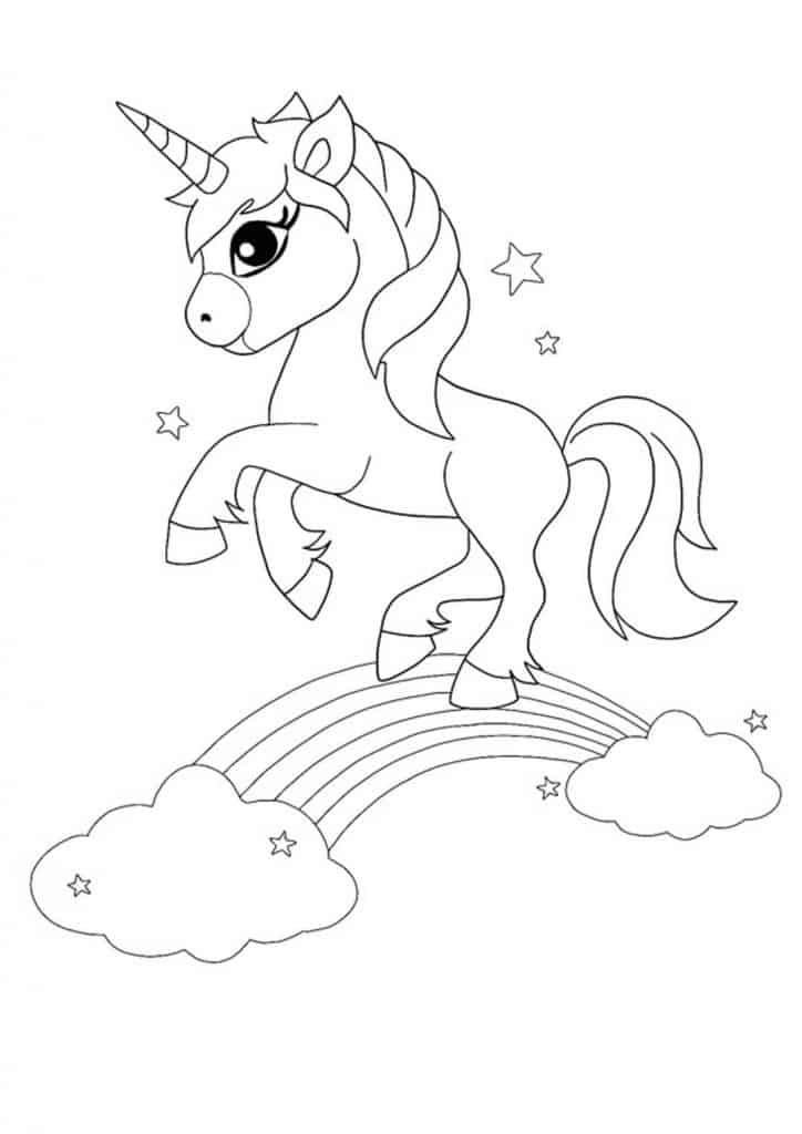 Unicorn Rainbow Coloring Pages 6 Free Printable Coloring Sheets 2020 Unicorn Coloring Pages Mermaid Coloring Pages Christmas Coloring Sheets
