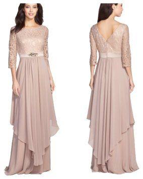 Eliza J Taupe Missy Dress on Sale, 31% Off   Formal Dresses on Sale at Tradesy