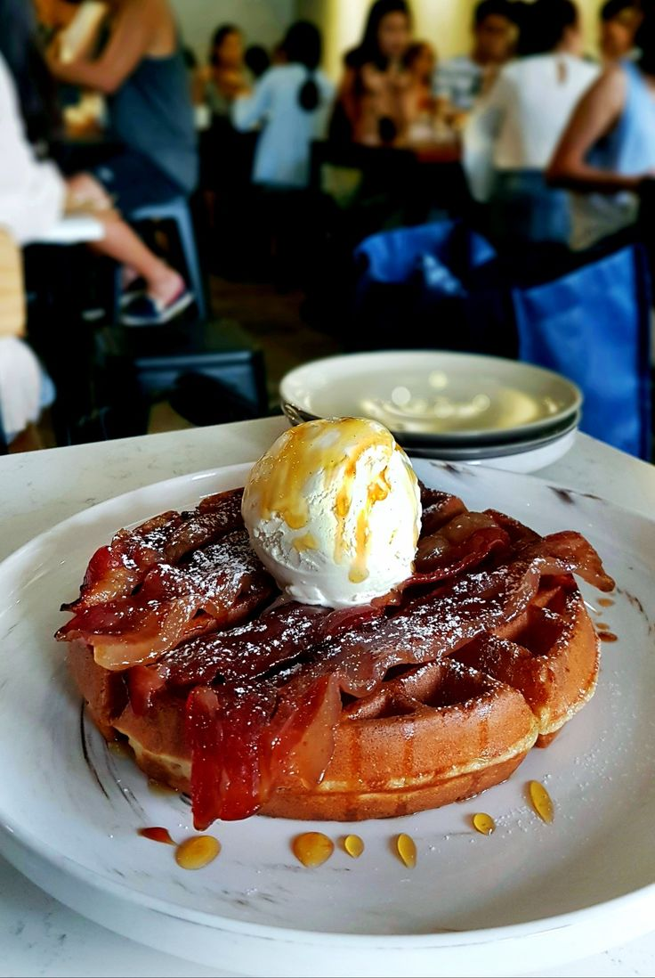 """Candied Bacon Waffle"", Atlas Coffee House, Singapore"