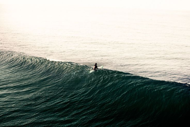 """Photo Art - """"Surface"""" by Andreas Lind - surfer, ocean, wave.."""