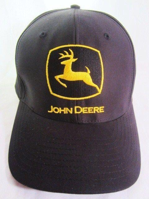 John Deere Black Cap : Images about hats on pinterest