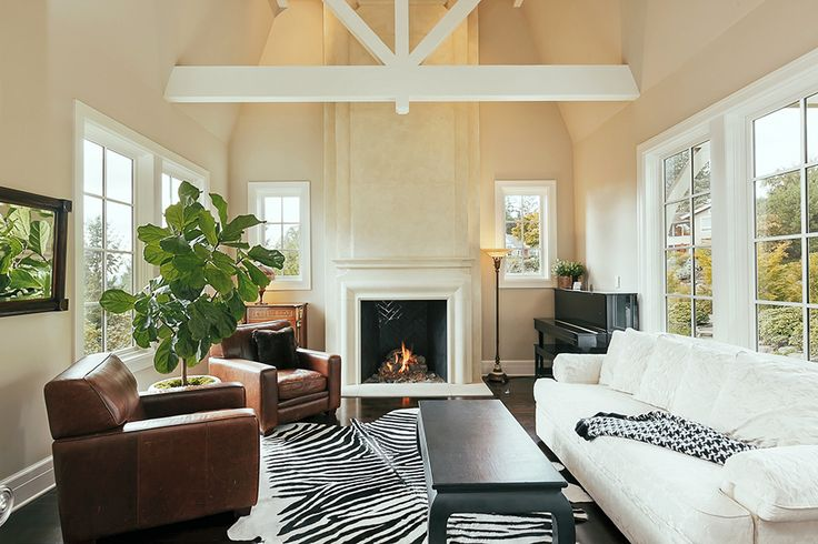 284 Best Images About White Fireplaces On Pinterest