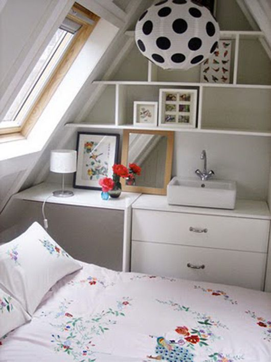 Love This Compact Bedroom    With A Sink! | For The Home | Pinterest |  Bookshelf Desk, Sinks And Desks