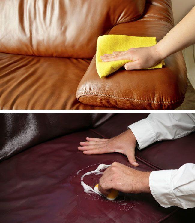 Cómo reparar un sofá de cuero de forma fácil y barata