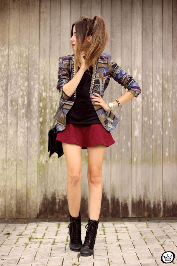 Saia vermelha - FashionCoolture - 06.04.2015 look du jour Lez a Lez (1)