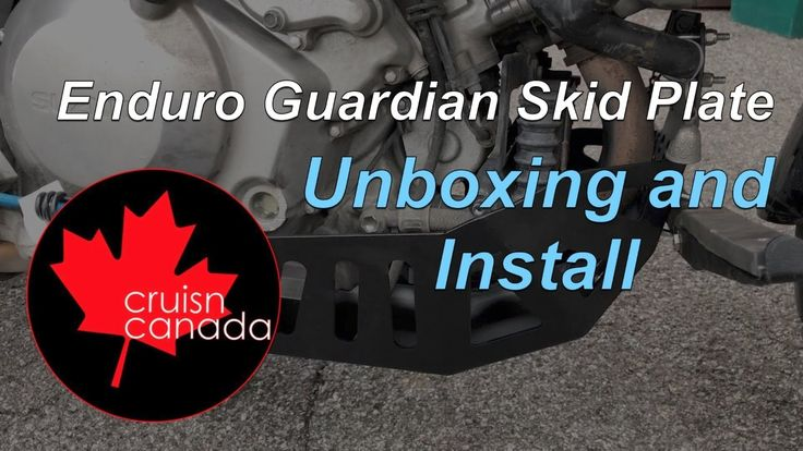 Unboxing and Installing the Enduro Guardian Skid Plate and Highway Pegs
