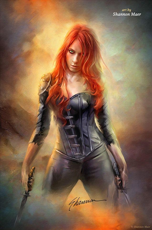 Warrior female by Shannon Maer
