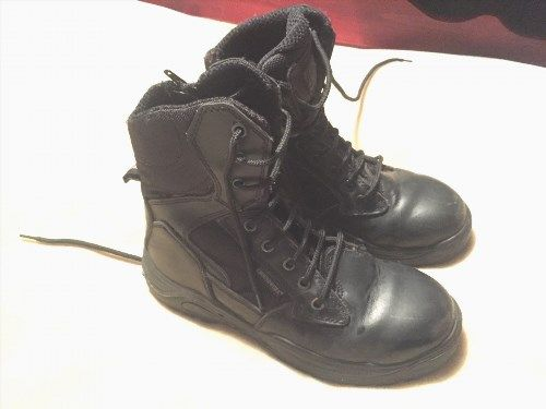 22.70$  Watch here - http://viass.justgood.pw/vig/item.php?t=w8z4emt13676 - Groundwork Steel Toe Cap Boots. Army Police Security Size 6 Great Condition