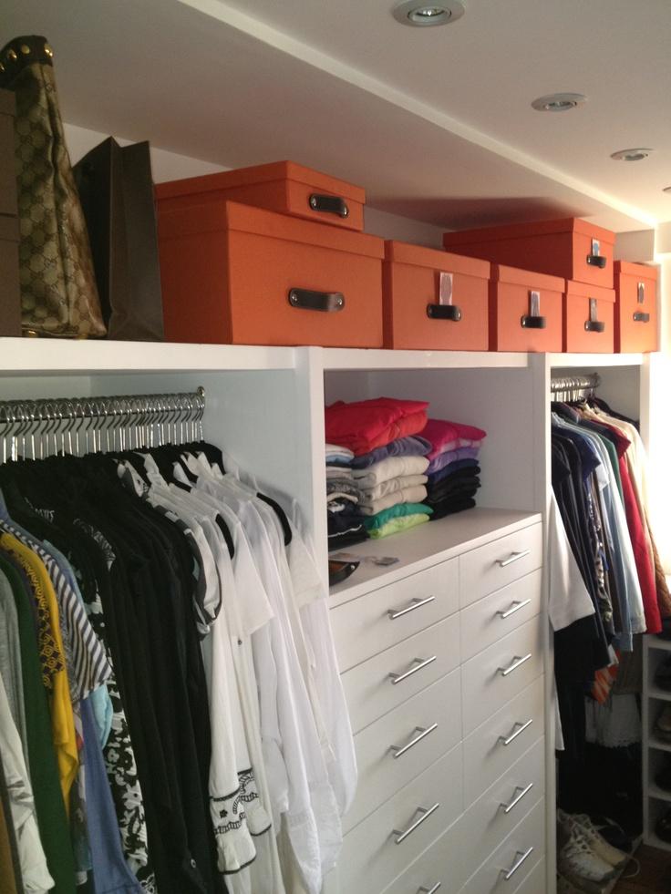 1000 images about organizadores de ropa on pinterest for Organizadores para closet