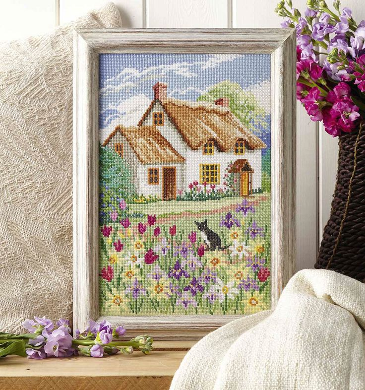 HOME FROM HOME - Available in Cross Stitch Collection 246