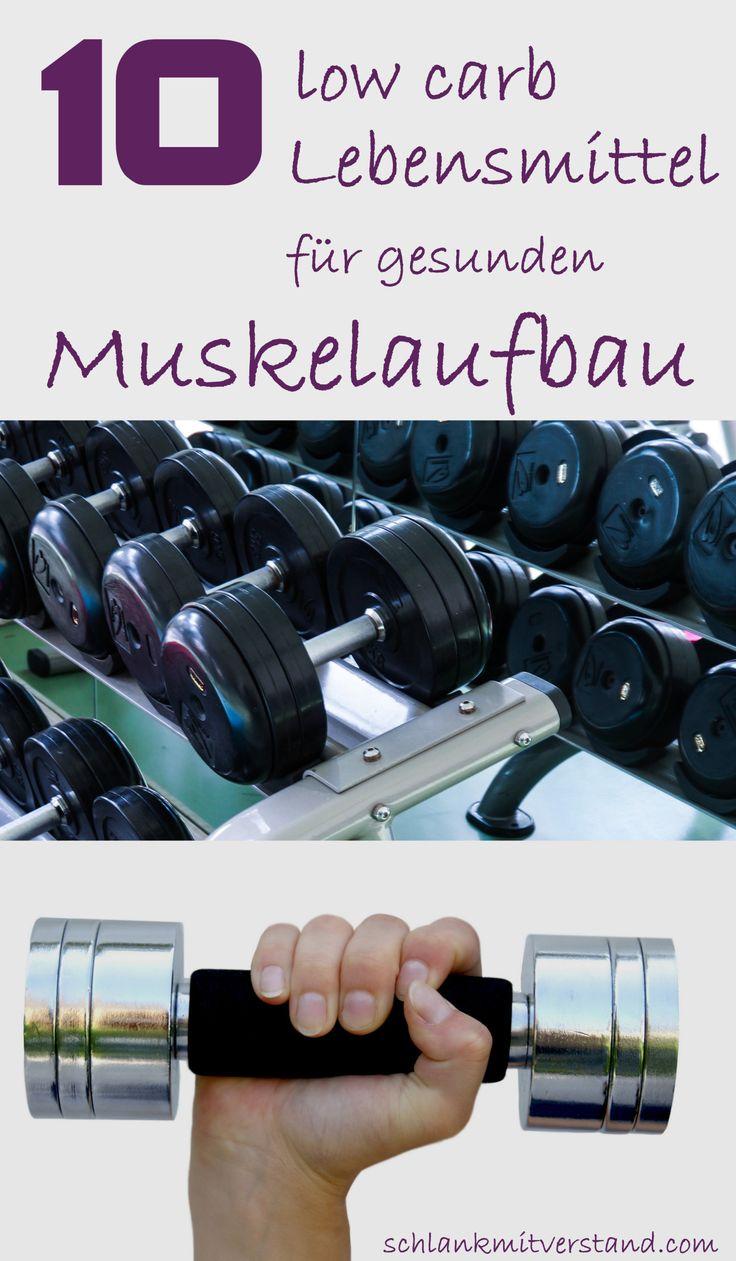 Neben der Gewichtsabnahme ist auch ein gesunder Muskelaufbau wichtig, denn Muskeln machen attraktiv, vital und gesund. Sie formen den Körper und stützen Knochen und Gelenke. Außerdem verbrennen s…# #abnehmen # Fitness #Muskelaufbau # Sport #lowcarb #Ernährung #Liste #Lebensmittel