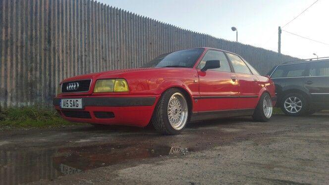 Audi 80 B4 1993..Slammed