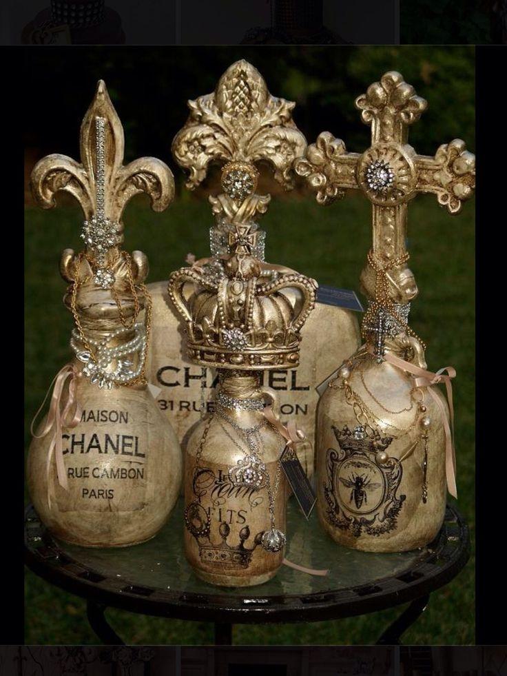 Michelle Butler Decorative Bottles