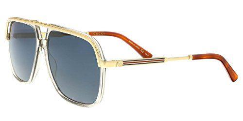 f2222676ba5 Gucci GG0200S Brown 004 Gucci Sunglasses