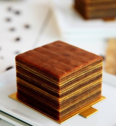 Layered cake (kue lapis), Indonesian