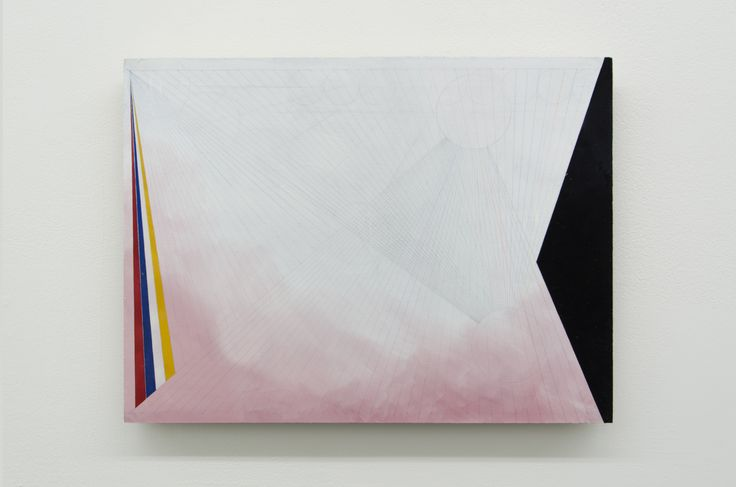Sarah Chilvers - UNTITLED (BC_SC2016_03),  2014-2016, Gouache on plywood, 30.3 x 40.4 cm