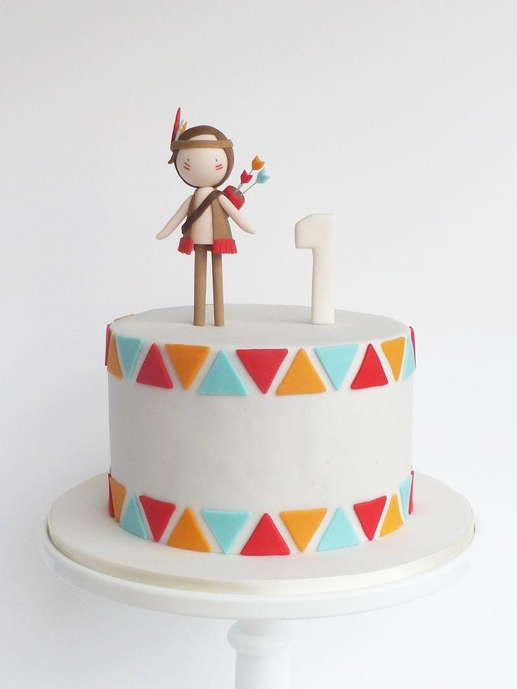 Peaceofcake ♥ Sweet Design: Pow-wow Cake and Cookies ▲ Bolo e Bolachas Pow-wow