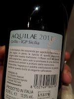 Grillo 2011, Aquilae,Viticultori Associati Canicatti