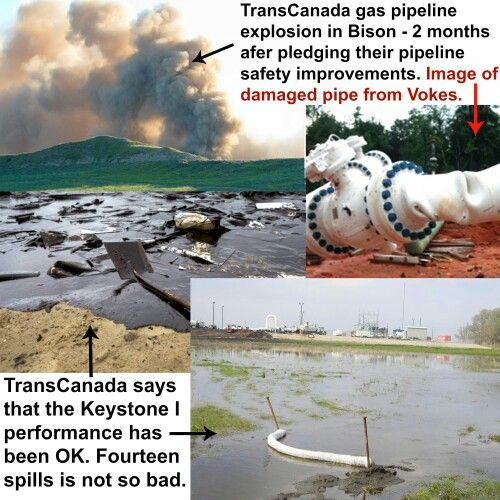 Why on Earth Would We Let This Irresponsible Company Even Set Foot on U.S. Land, Let Alone Lay Shoddy Pipeline?  The time has come for U.S. pipeline regulators to do their own due diligence into questions of TransCanada's safety practices.