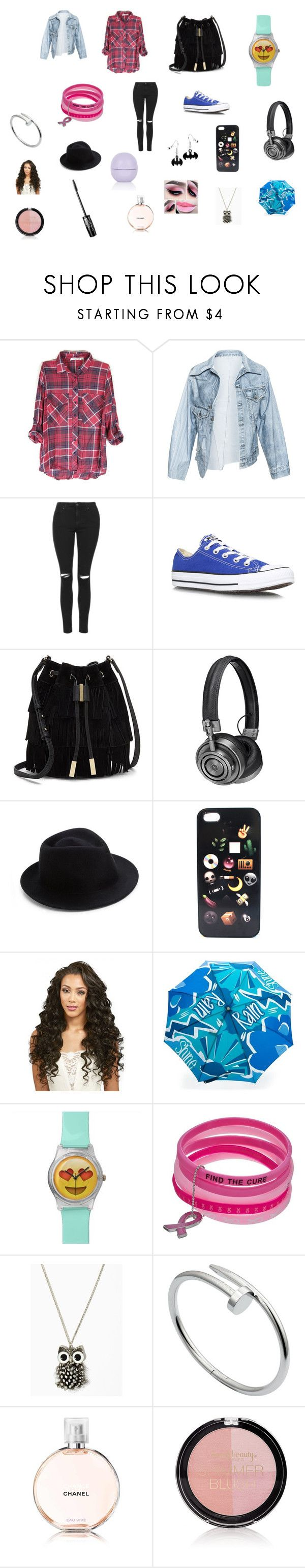 """""""Casual"""" by sarah-blevins on Polyvore featuring Faustine Steinmetz, Topshop, Converse, Vince Camuto, Master & Dynamic, Eugenia Kim, Burberry, Cartier and Forever 21"""