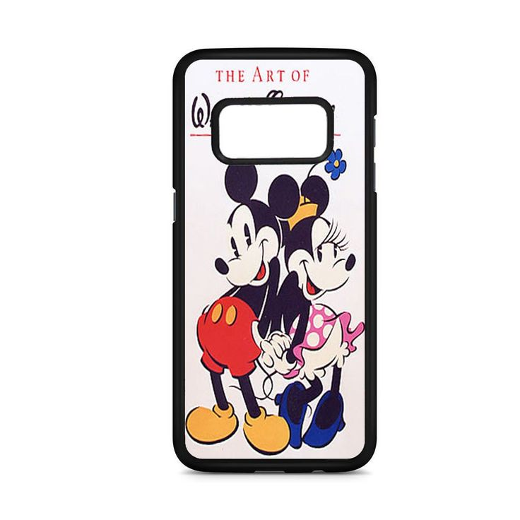 WALT DISNEY MICKEY MINNIE MOUSE THE ART OF WALT DISNEY SAMSUNG GALAXY S8 CASE