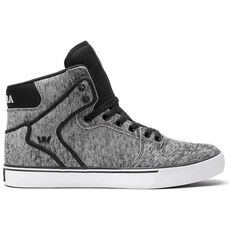 boty SUPRA - High Vaider Grey/Burgundy White (GBU) | SNOWBITCH.CZ