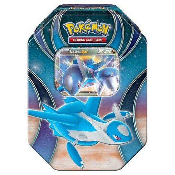 Pokemon Best Of Pokemon-EX Latios Tin Trading Card Game