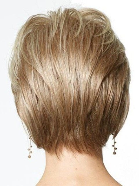 Layered Short Hairstyles for Oval Faces-2