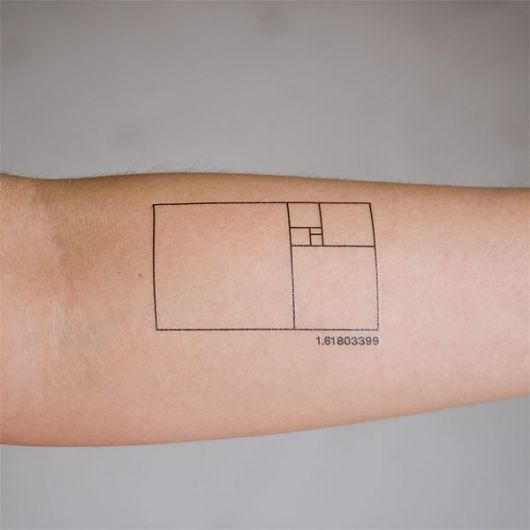 Many of my friends say they want but never actually get this golden mean, ISO standardized boxes tattoo. Always a good concept.