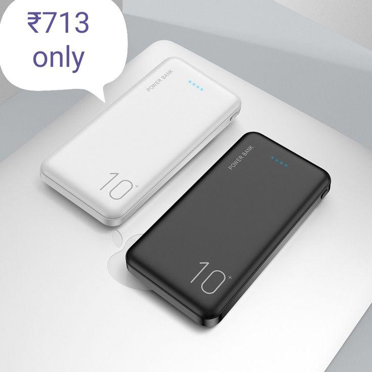 Raxfly 10000mah power bank for all mobile phone dual usb