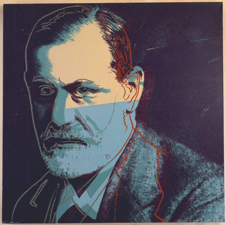 Andy Warhol: Sigmund Freud (1980)