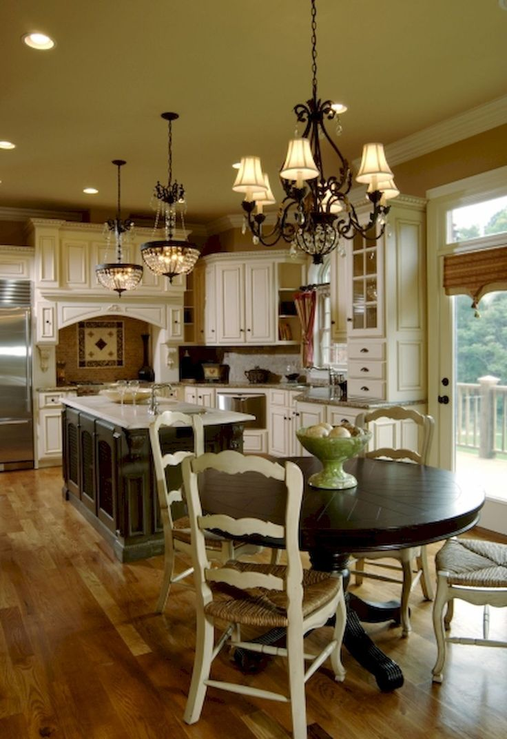 Best 25 country kitchen designs ideas on pinterest - Traditional kitchen design images ...