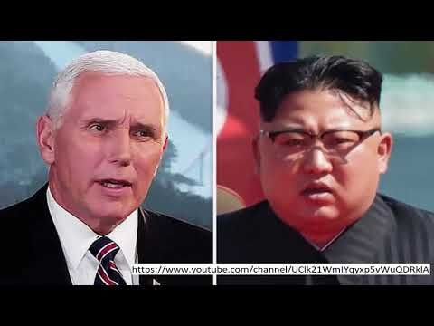 00Fast News, Latest News, Breaking News, Today News, Live News. Please Subscribe! Mike Pence DENIES USA U-turn on North Korea in advance of Trump-Kim contact US VICE President Mike Pence has hit out at allegations that fact Donald Trump's outcome to meet Kim Jong-un marks a U-turn in US b...